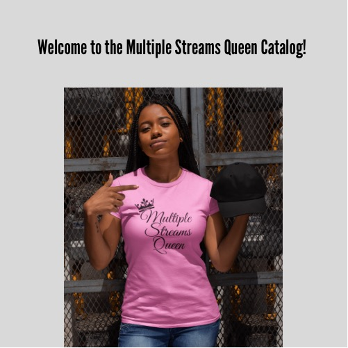 Multiple Streams Queen Merchandise Catalog